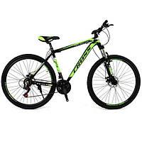 "Велосипед горный Cross Hunter 29"" (Green-Black-White), фото 1"