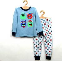 Пижама хлопковая для мальчика р.104,116
