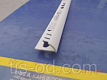 Угол ПВХ внешний для плитки 12мм