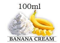 Жидкость для электронных сигарет со вкусом Банановый крем с дозатором в пластиковой ПЭТ таре ёмкостью 100мл