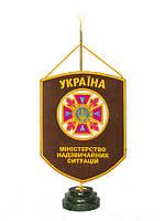 Вымпел настольный «ГСЧС» Украины