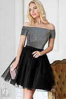 Коктельное платье-пачка