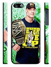 Чехол  на айфон 5 WWE Джон Сина