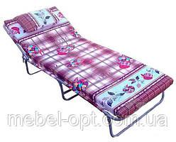 Кровать раскладнаяс матрасом и подушкой «Мария М60» (1880х740),возможен безналичный расчет сНДС от 10 штук