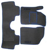"""Коврики на Geely CK1 '05-08. Текстильные автоковрики. Тип """"Стандарт"""""""