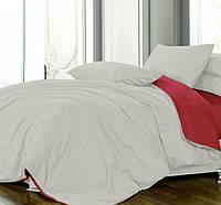 Полуторное (простынь на резинке) постельное белье - Сатин однотонный, микс№251+№23