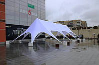 Шатер Звезда 4 - 10х24,5 м, Четырехмачтовая на 70-90 человек, фото 1