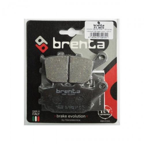 Кращі гальмівні колодки для мототехніки (органічні) BRENTA 3072