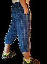 Бриджи мужские в клетку 3 кармана, фото 3