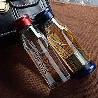 My Bottle стекло,бутылочка Май Батл 420мл + Чехол  Новинка!