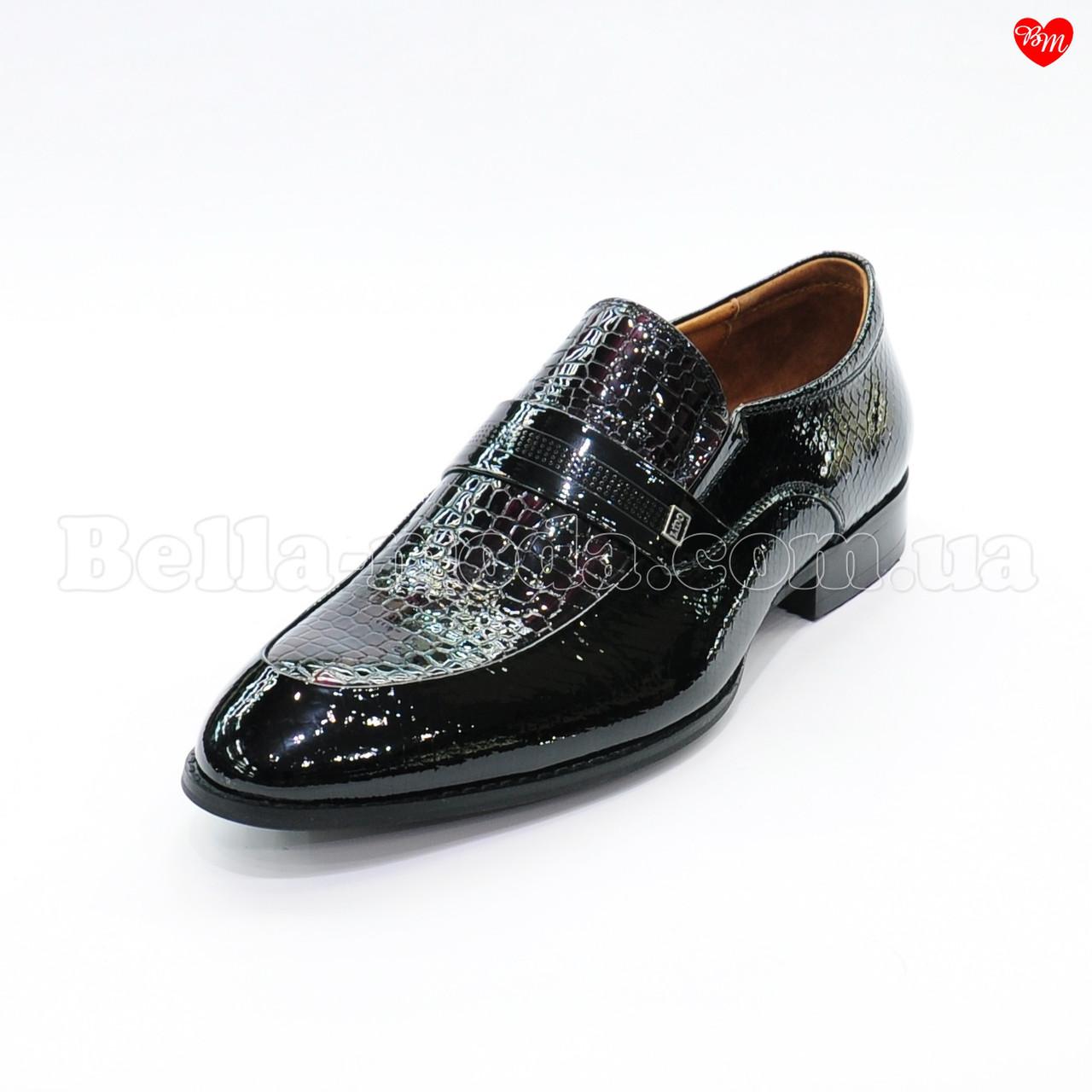 28444e13822f79 Мужские лаковые туфли хамелеон - интернет-магазин