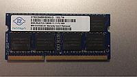 Память NANYA 8Gb So-DIMM  PC3-12800S  DDR3-1600 1.5v