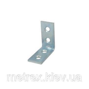 Уголок мебельный 30х30х15 мм. оцинкованный