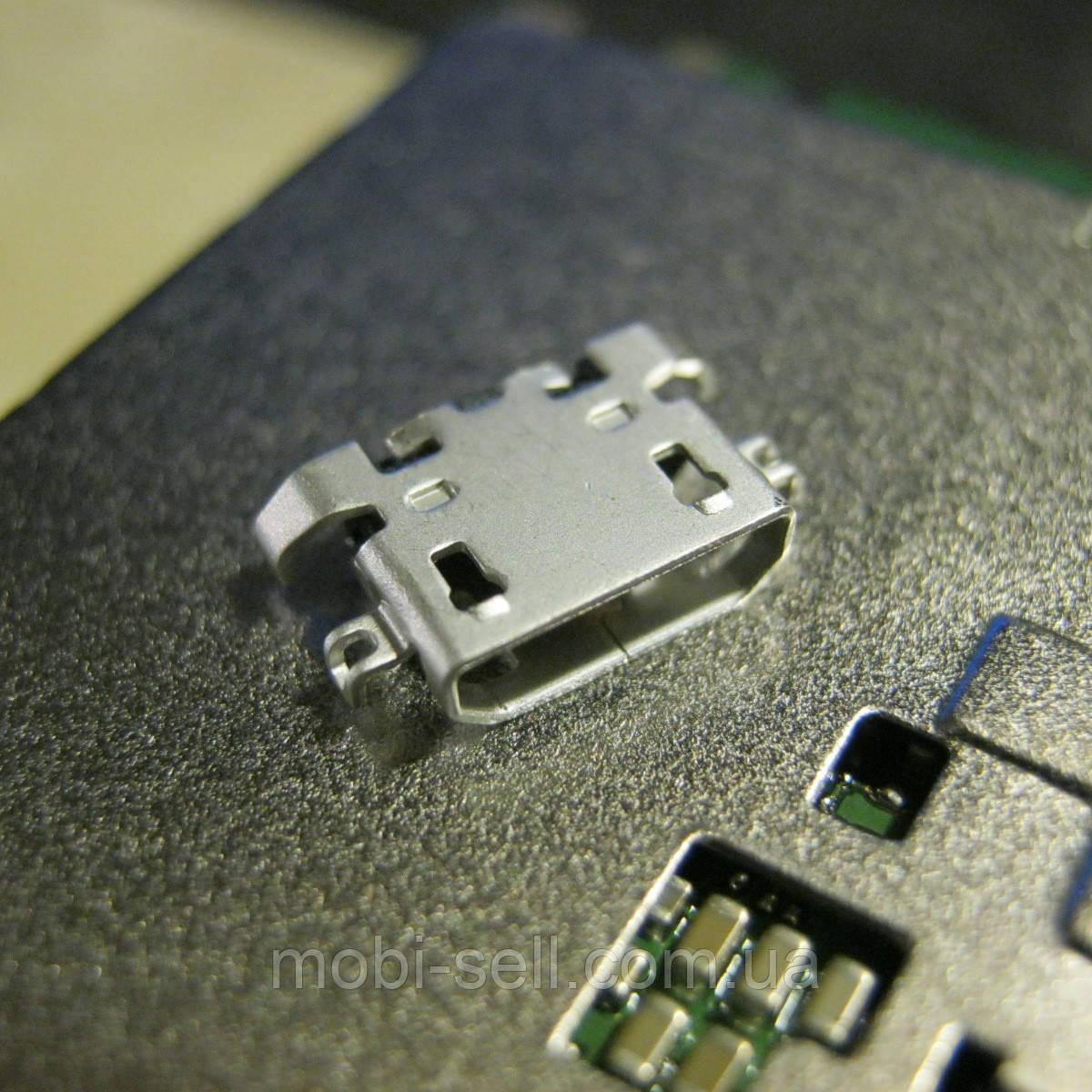 Коннектор зарядки и USB для Lenovo A328 (гнездо, разъем)