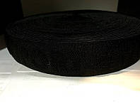 Резинка с логотипом Fashion Style 40 мм (25 м) черная