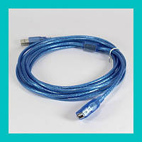 Кабель удлинитель USB 2.0 a/f 5m