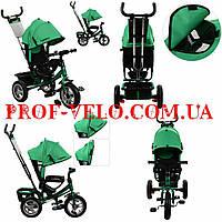 Детский Трехколесный велосипед TURBO TRIKE M 3113A-N4 колесо покрышка+камера (Темно-Зеленый)