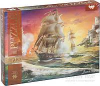 Набор пазлов Danko Toys картина Корабль C1500-02-01,02…10