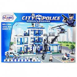Конструктор 1204 Поліцейський ділянку, 1215 деталей