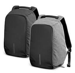 Рюкзак Bobby Bag  антивор (black, grey,purple)