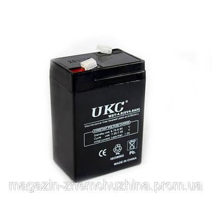 Аккумулятор BATTERY RB 640 6V 4A UKC, фото 2