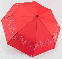"""Зонтик полуавтомат с серебристым узором от фирмы """"Flagman"""", фото 1"""