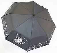 """Зонтик полуавтомат с серебристым узором от фирмы """"Flagman"""""""