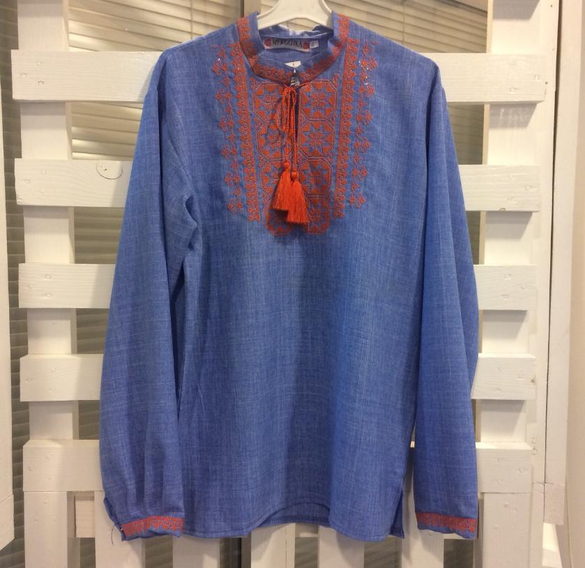 Красивая Вышитая Рубашка Вышиванка — в Категории
