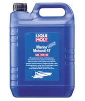 Масло моторное LIQUI MOLY 4T 15W-40 Marine Motoroil (минеральное) 5L