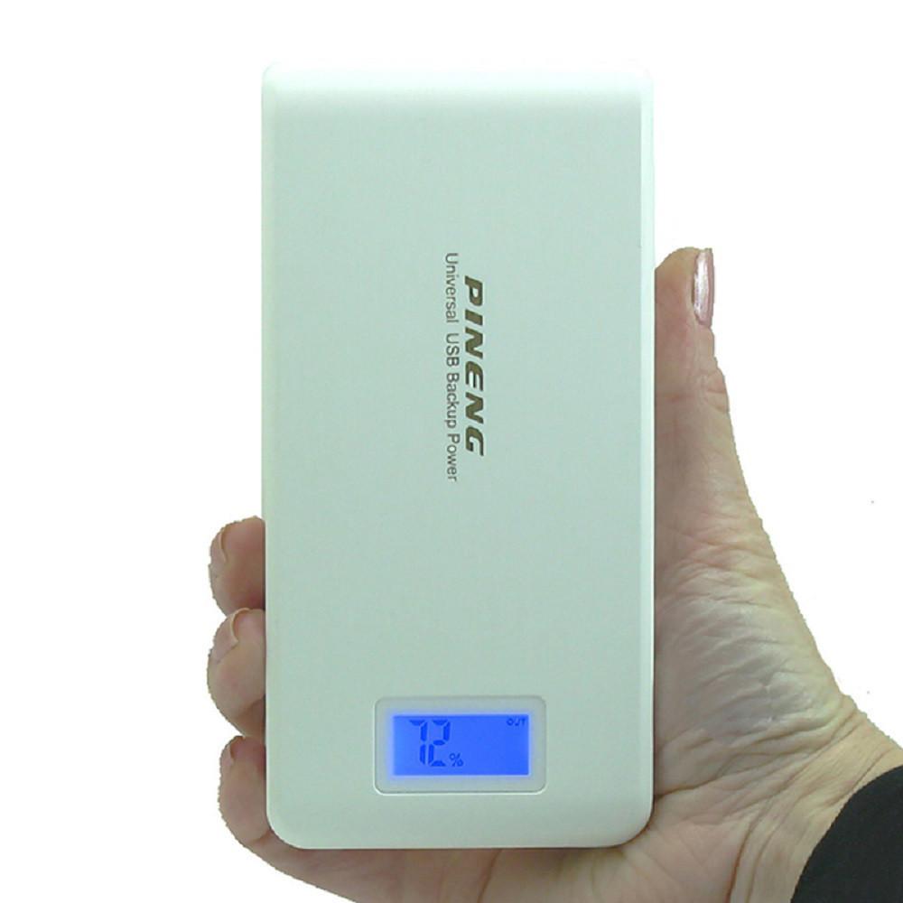 Портативный аккумулятор Pineng PN-929 Power bank Оригинал15000 мАч Белый
