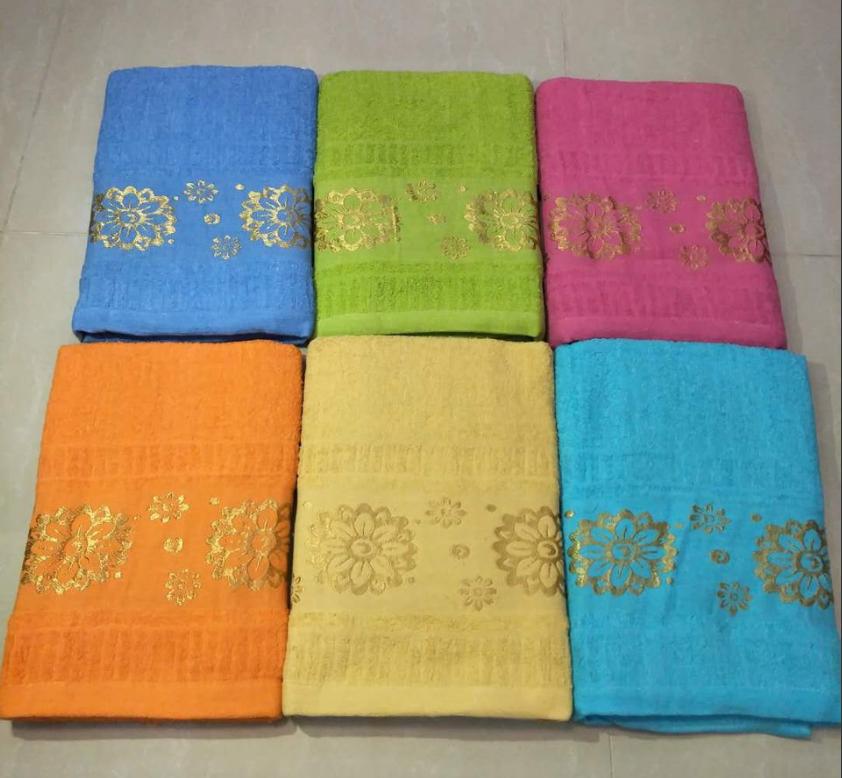 Лицевое махровое полотенце