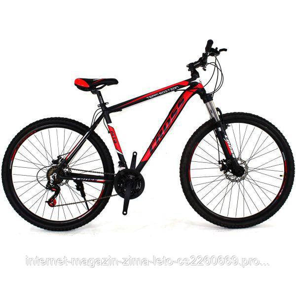 "Велосипед горный Cross Hunter 29"" (Black-Red-White)"