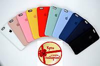 Силиконовый чехол на айфон Apple silicon case iPhone 5/5S/6/6+/7/7+/8