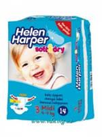 Подгузники Helen Harper Soft&Dry  3 Midi (4-9кг) 14шт
