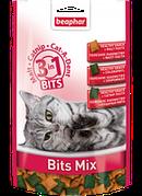 Beaphar Bits Mix 150г - три вида вкусных подушечек в одной упаковке