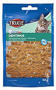 Trixie TX-4266  Denta Fun 50г-лакомство для кота с специальной формой для чистки зубов и межзубных пространств