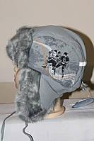Шапка для мальчика TuTu Сибирь арт.39. 3-000880(48-50), фото 1