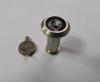 Глазок дверной AMIG матовый хром 35-60мм D14