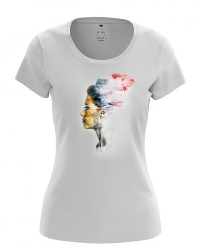 Стильная женская футболка  (FG-24-15)