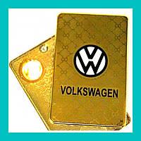 Электроимпульсная USB зажигалка Volkswagen!Акция