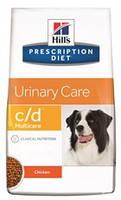 Hills Prescription Diet Canine c/d 2кг -корм для собак профилактика и лечения МКБ (8654), фото 2