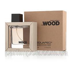 DSQUARED2 HE WOOD EDT50 ml + косметичка Набор подарочный (оригинал подлинник  Италия)
