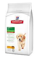 Hills SP Puppy Healthy Development Lamb and rice 12кг-корм для щенков средних пород с ягненком (9264), фото 2
