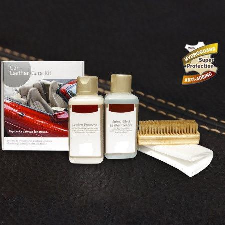 Набір по догляду за шкіряним салоном автомобіля