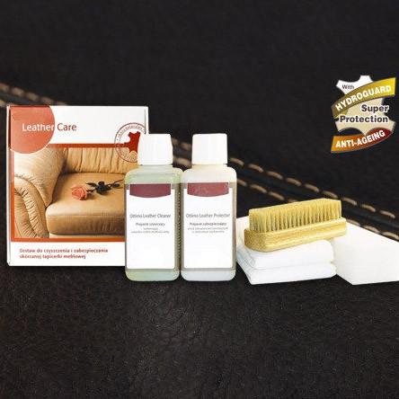 Leather Care Maxi — набір для догляду за шкіряними меблями