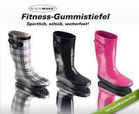 Женские резиновые сапоги утепленные, калоши, гумаки, чоботи Германия Walk Maxx