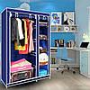 Складной тканевый шкаф clothes rail with protective cover 28109, фото 4