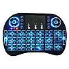 Клавиатура беспроводная i8 (с подсветкой)для Смарт Тв и Android, фото 4