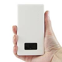 Портативный аккумуляторPineng PN-960 6000 мАч повербанк Белый