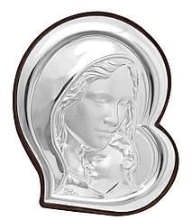 """Икона """"Богородица с младенцем""""  в итальянском стиле  210х240мм"""